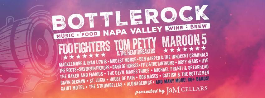 BottleRock Napa Valley Line Up