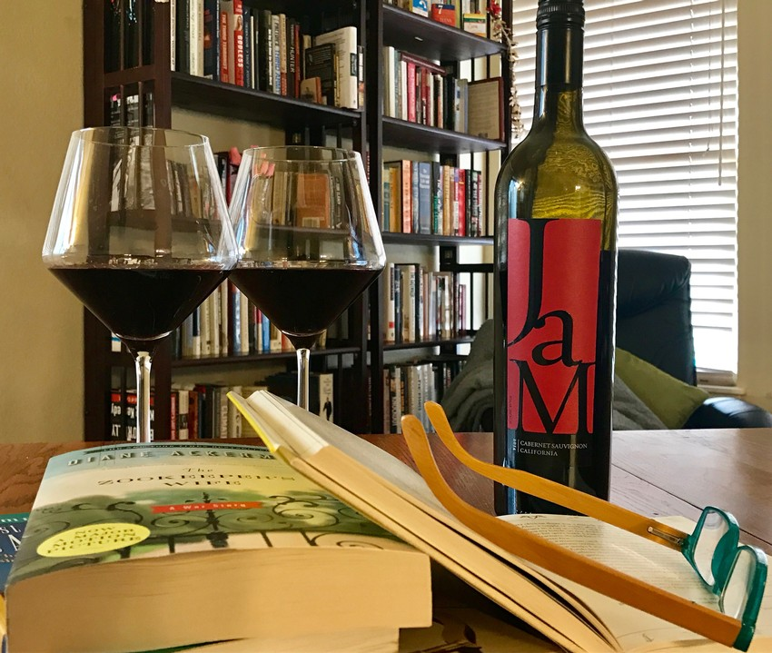 Reading and Wine go Great Together