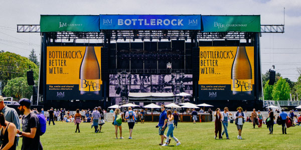 BottleRock 2020 with JaM Cellars