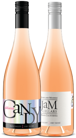 California Candy Dry Rosé, Napa Valley 2-pack