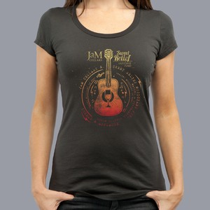 Wine Guitar | Women's T-Shirt