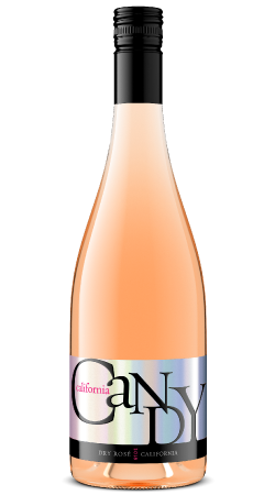 2018 California Candy Dry Rosé 750 mL Image