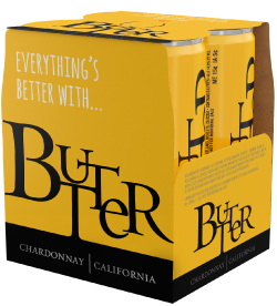 Butter Chardonnay, California - 4 Pack Cans Image